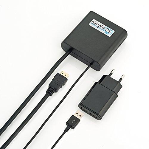simpleDS Digital Signage: Einfache & Günstige Werbung im Schaufenster, Eingang oder Menüboard. Digital und schnell auf jedem TV, Fernseher & Bildschirm. Software & Player HDMI+WLAN