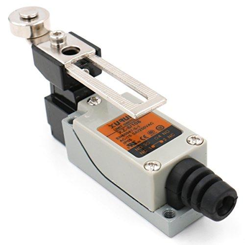Heschen - Endschalter, Z-8/108 Verstellbarer Rollenhebel, 5A, 250V Wechselstrom, SPDT Momentary, UL-/TüV -gelistet, IP 65, für CNC Fräse, Plasma