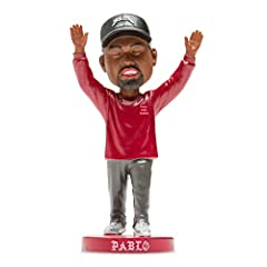 THE LIFE OF PABLO KANYE WEST BOBBLEHEAD - The only one on the market! HIP HOP CULTURE COLLECTIBLES - Bobble Supply features several different product lines of famous icons, including entertainers, artists, singers, historic and political figures. Gre...