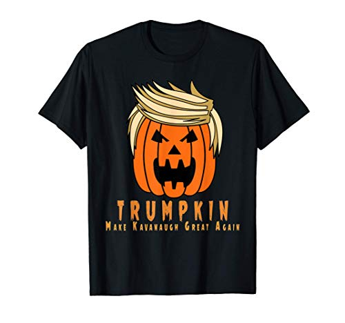 Disfraz de Halloween Jack O Lantern de Trumpkin Kavanaugh Camiseta