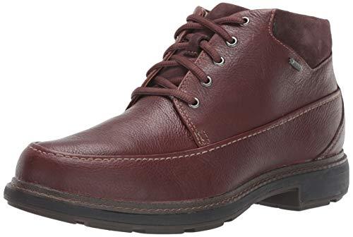 Clarks Men's Un Tread On GTX Ankle Boot, Dark Brown Leather, 11.5 M US