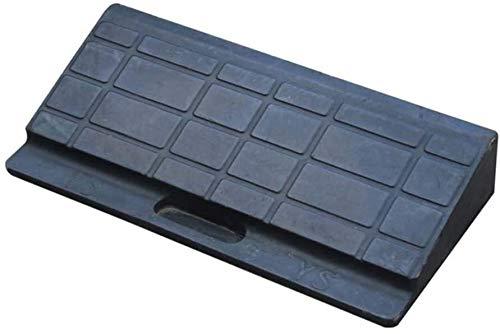 DJSMxpd Rampas Servicio Negro Rampas de Coches con cuestas umbral Rampas Triángulo cojín de protección Solar rampas Antideslizantes