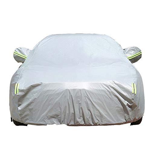 QCYP Ganzgarage Autoabdeckung Passend für Audi A4 regensicherer Sonnenschutz Garage Schutz Cover Sommer Winterwaren für Autos