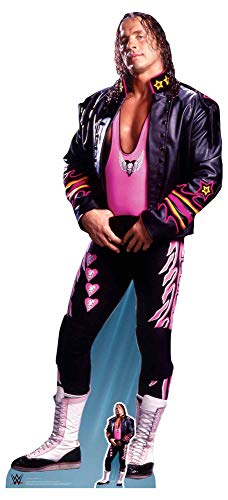empireposter WWE - Wrestling - Hart, Bret - Prominente Star VIP - Pappaufsteller Standy - 84x185 cm