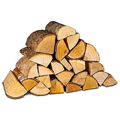 Fire Pit Logs. 20Kg. Kiln Dried Hardwood Logs Suitable for Outdoor Fire Pits. Thinner and Hotter Burning for Less Smoke. by Logpile