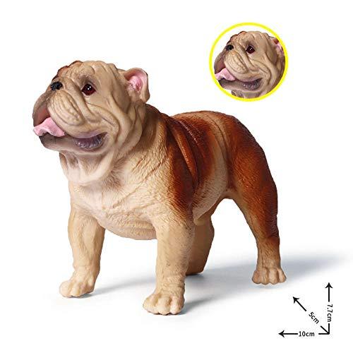 Tier Ornamente Bulldogge Hundespielzeug Basteln Ornamente Personalisierte Geschenke Hauptdekorationen Harz Ornamente