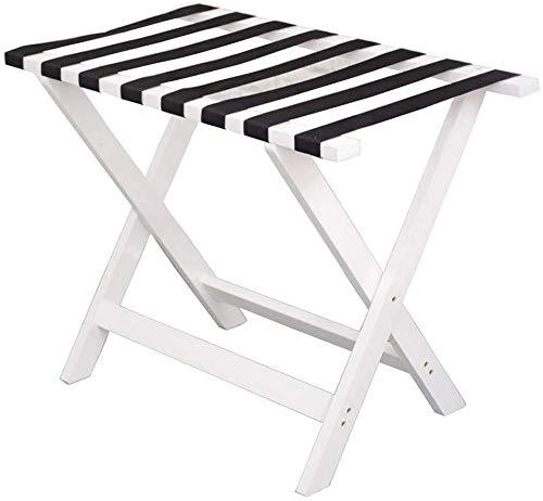 Save %57 Now! QTQZDD Room Luggage Holder, Hotel Solid Wood Folding Luggage Rack, Travel Break Foldin...