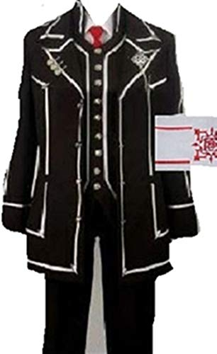 Mister Bear Vampire Knight Cosplay Costume KIRYU Zero Black White