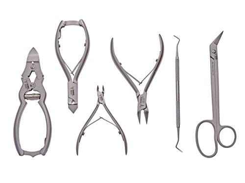 110PCS Edelstahl Splint R-Typ Haarnadel Sortiment Kit Handbetriebene Werkzeuge Zubeh/ör mit Aufbewahrungskoffer
