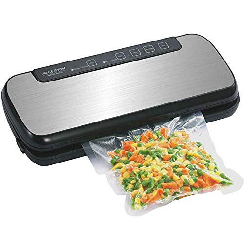 GERYON Vacuum Sealer, Automatic Compact Food Sealer Machine with Starter Bags & Roll, Hose for Food...