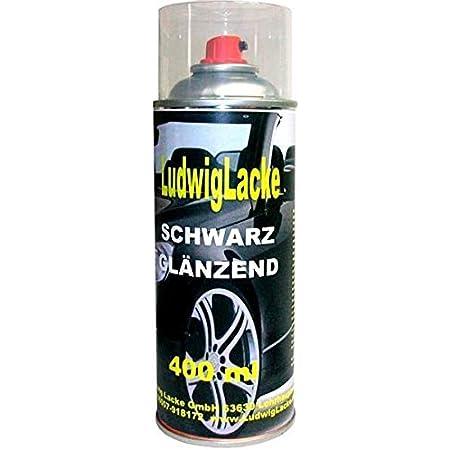 2 Lackspray Schwarz Glänzend 400 Ml Je Spraydose Auto