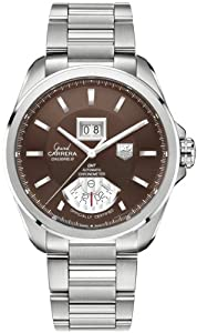 TAG Heuer Men's WAV5113.BA0901 Grand Carrera Grand Date GMT Watch Sale and Online and review image