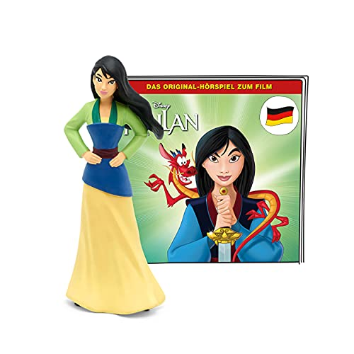 tonies Hörfiguren für Toniebox, Disney – Mulan, Original-Hörspiel zum Film, Hörspiel für Kinder ab 4 Jahren, Spielzeit ca. 55 Minuten