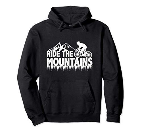 Regali Mountain Bike Mountain Bike Ciclismo Felpa con Cappuccio