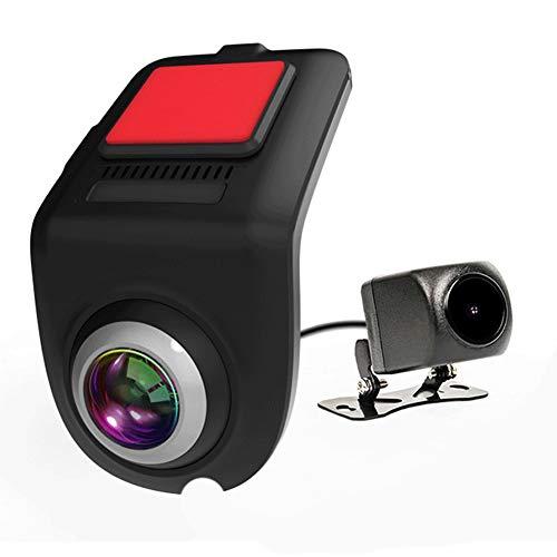 WWMH CáMara de Coche,Dash CAM Full HD con Sensor, DeteccióN de Movimiento,GrabacióN en Bucle,CáMara de Coche CáMara de Coche VisióN Nocturna,Monitor de Aparcamiento