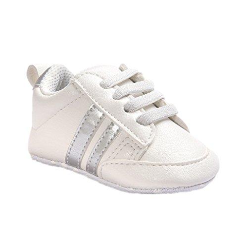 Zapatos para bebé Auxma Zapatillas Bebé niño niña Zapatillas Bebé Prewalker de...