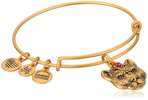 Alex and Ani Wild Heart II Rafaelian Gold Bangle Bracelet