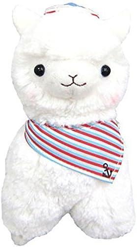Llama Sailor Alpaca 7 Prime Plush (Weiß)