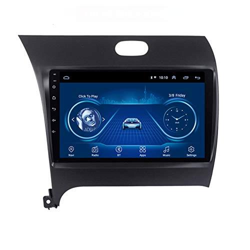 STTTBD Android 9.1 Auto Satellitenradio 9 Zoll Multimedia Player Für KIA K3 2013-2015 Autoradio 2.5D Bildschirm Mit WiFi Bluetooth FM AM Lenkradsteuerung(Color:WiFi 2G+32G)