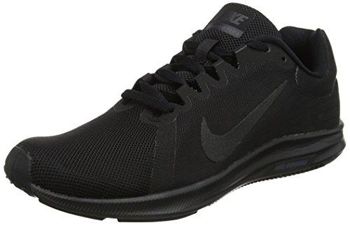 Nike Damen Downshifter 8 Laufschuhe, Schwarz (Black/Black 002), 40 EU