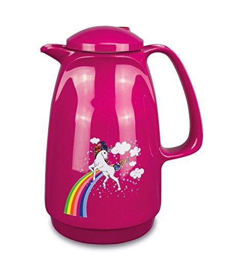 Isolierkanne 220 (Einhorn Edition) (sparkling pink) | Doppelwandige Vakuumisolierung | Zweifunktions-Drehverschluss | BPA Frei- gesundes...