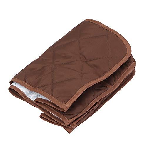 Worii Wunderschöner Schutz für Kocherabdeckungen Exquisiter Suppentopf Staubschutzabdeckung Schutz für Kocherabdeckungen,(Brown, 40.6 * 23 * 25.4cm)
