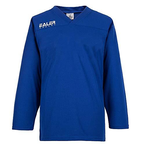 EALER Erwachsene Senior Mesh Goalie Eishockey Training Trikot Blau