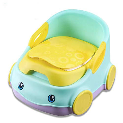 HUXINFEI Baby Travel Potty Trainingslaufe Non Slip Detachable Soft Toiletten-Sat Sicherheit Baby Potty,mintgreen