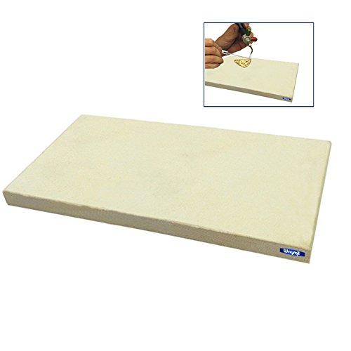 Ceramic Soldering Board 210mm X 110mm Jewelry Repair Weld Heat Resistant Plate