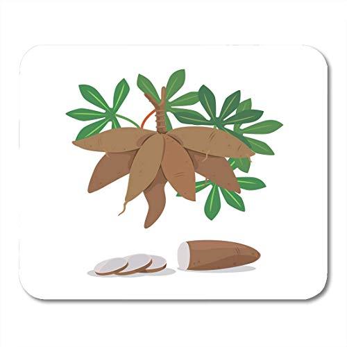 Muis Pads Feed Landbouw van Cassava Root en Stukken Energie Voedsel Muis Pad voor Notebooks,Desktop Computers Muismatten