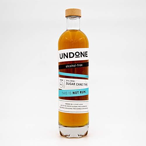 UNDONE NO.1 Sugar Cane Type - alkoholfreie Alternative zu Rum (1 x 0.7l)