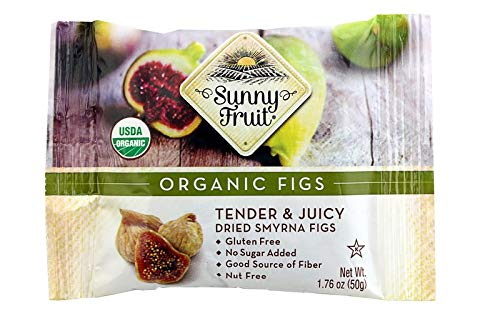Sunny Fruit Organic Figs,Tender and...