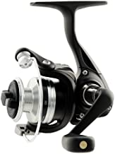 Daiwa D-SPIN1000-B-CP D-Spin Ultralight Spinning Reel, 1000, 4.9: 1 Gear Ratio, 1BB, 4.40 lb Max Drag, Ambidextrous, Clam Package