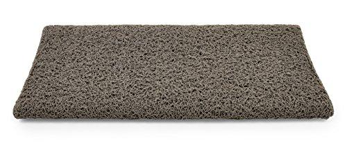 Camco Mfg Inc Premium en camper-stapje rond tapijt 17.5 inches x 18 inches grijs