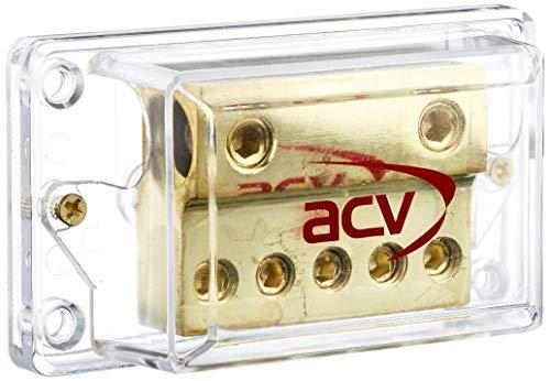 ACV 30.3601-03 C-Quence 5 Fach Verteilerblock Gold-Edition