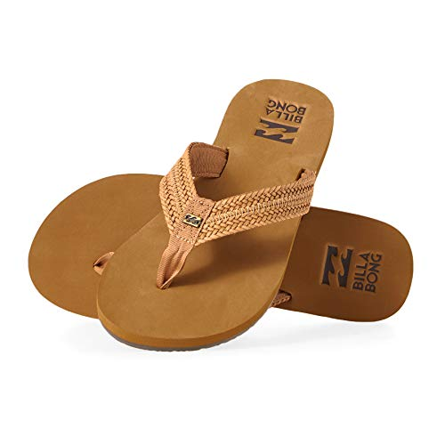 Billabong Kai Womens Flip Flops 5 B(M) US Women Tan