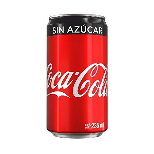 Coca-Cola Sin Azúcar, 24 Pack - 235 ml/lata