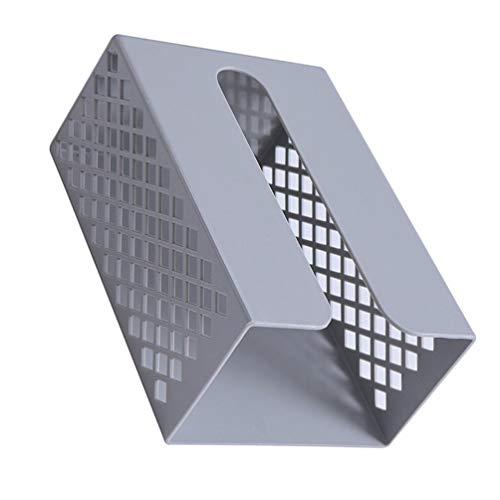 Angoily Dispensador de Toallas de Papel para Encimera Soporte para Toallas de Papel Dispensador de Toallas de Mano para El Hogar Cocina Baño Restaurante (Gris)