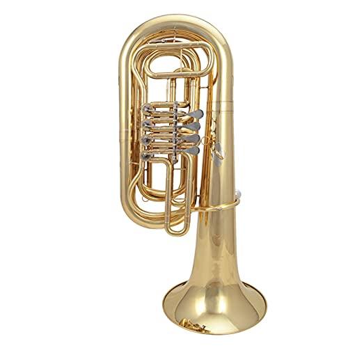 SHUNTIAN B Flat Key 4K Lacquered Gold Big Hug Brass Finishing Euphonium
