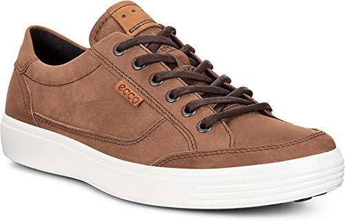 ECCO Men's Soft 7 Fashion Sneaker, Cocoa Brown,46 EU / 12-12.5 US