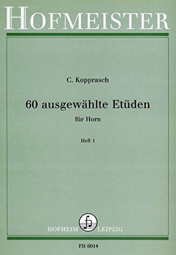 KOPPRASCH C. - Estudios Selectos (60) Vol.1 para Trompa (