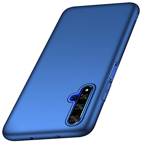 Case for Huawei Honor 20/Nova 5T/Honor 20S Ultrathin Lightweight Matte Phone Case Simple Shockproof Scratchproof Full Body Case Compatible with Huawei Honor 20/Nova 5T/Honor 20S (2019) 6.26'Blau