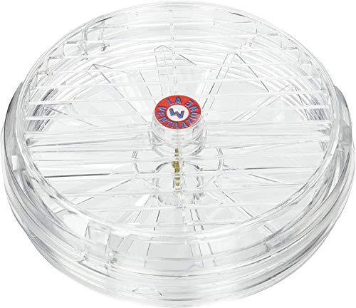 AET16 ventilatorkachel voor glazen ramen met vast rooster, diameter 170 mm, transparant