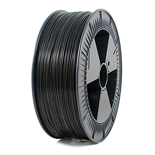 ICE FILAMENTS ICEFIL1PLA103 PLA Filament, 1,75 mm, 2,30 kg, Brave Black