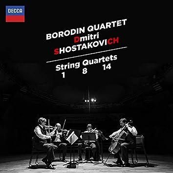 Shostakovich: String Quartets Nos. 1, 8 & 14