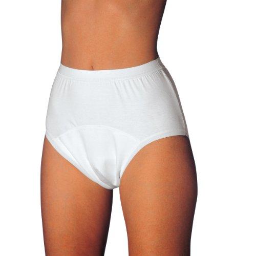 MEDISET made by modellia Inkontinenz-Slip für Damen und Herren bei mittlerer bis schwerer Inkontinenz zur Fixierung von Einwegvorlagen, D = 42/44 | H= 5