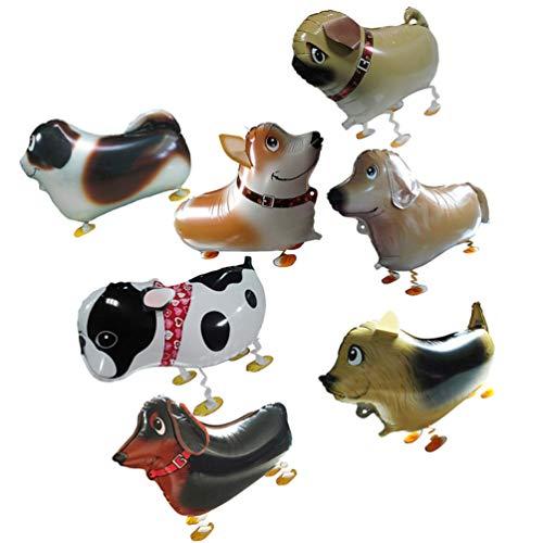 TOYANDONA 14 Piezas de Globos de Animales para Caminar Globos de Animales de Granja Globos para Mascotas Globos de Aire Decoraciones para Fiestas de Cumpleaños para Niños