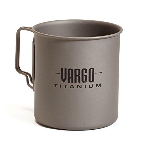 Vargo 450 Titanium Mug de Voyage