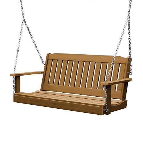 Highwood AD-PORL1-TFE Lehigh Porch Swing, 5 Feet, Toffee