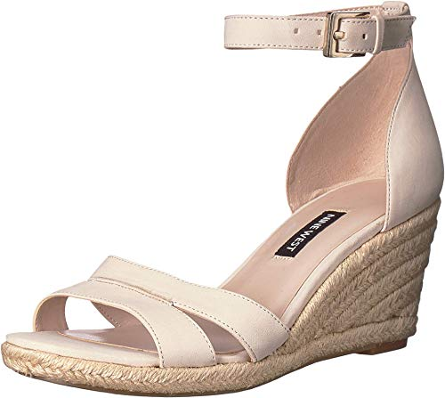 NINE WEST Jabrina Espadrille Wedge Sandal Cotton 10.5 M